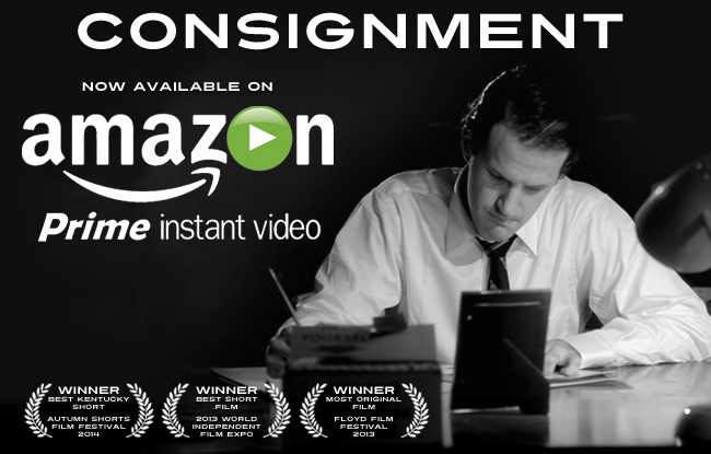 Consignment movie by Justin Hannah now available on Amazon Prime Instant Video