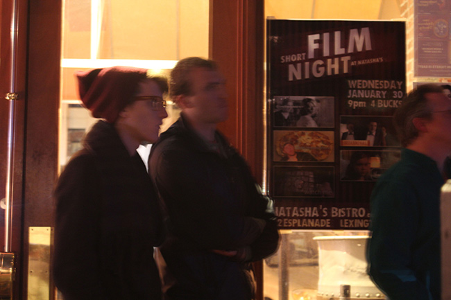 """Consignment"" movie premieres to SOLD OUT crowd at Natasha's Short Film Night"